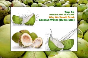 Top 10 health benefits of Coconut Water