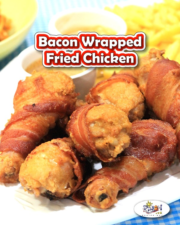 Bacon Wrapped Fried Chicken Recipe