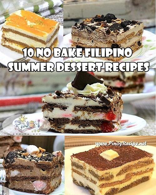 10 No Bake Filipino Summer Dessert Recipes