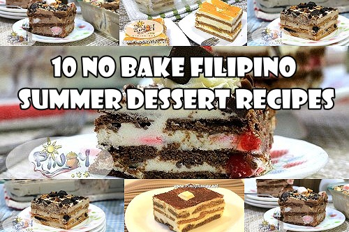 10 No Bake Filipino Summer Dessert Recipes