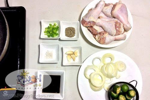 Chicken Bistek Ingredients