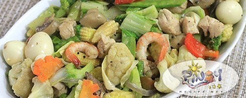 Chopsuey for Easter Sunday Filipino Recipes