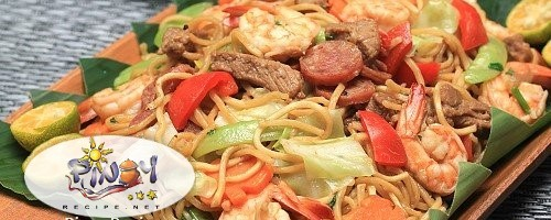Pancit Canton for Easter Sunday Filipino Recipes