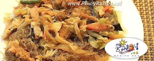 Sotanghon Guisado for Easter Sunday Filipino Recipes