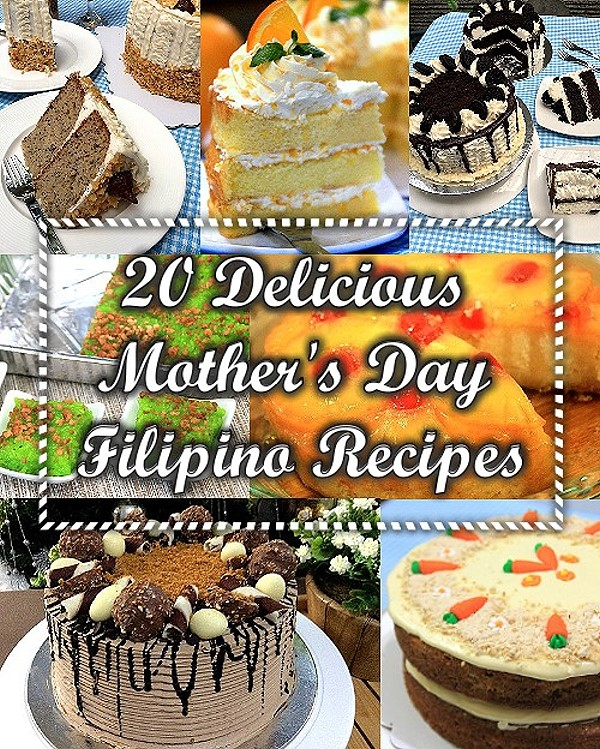 It\'s Mother\'s Day again, treat her with a delectable Filipino dish from our 20 Delicious Mother\'s Day Filipino Recipes.