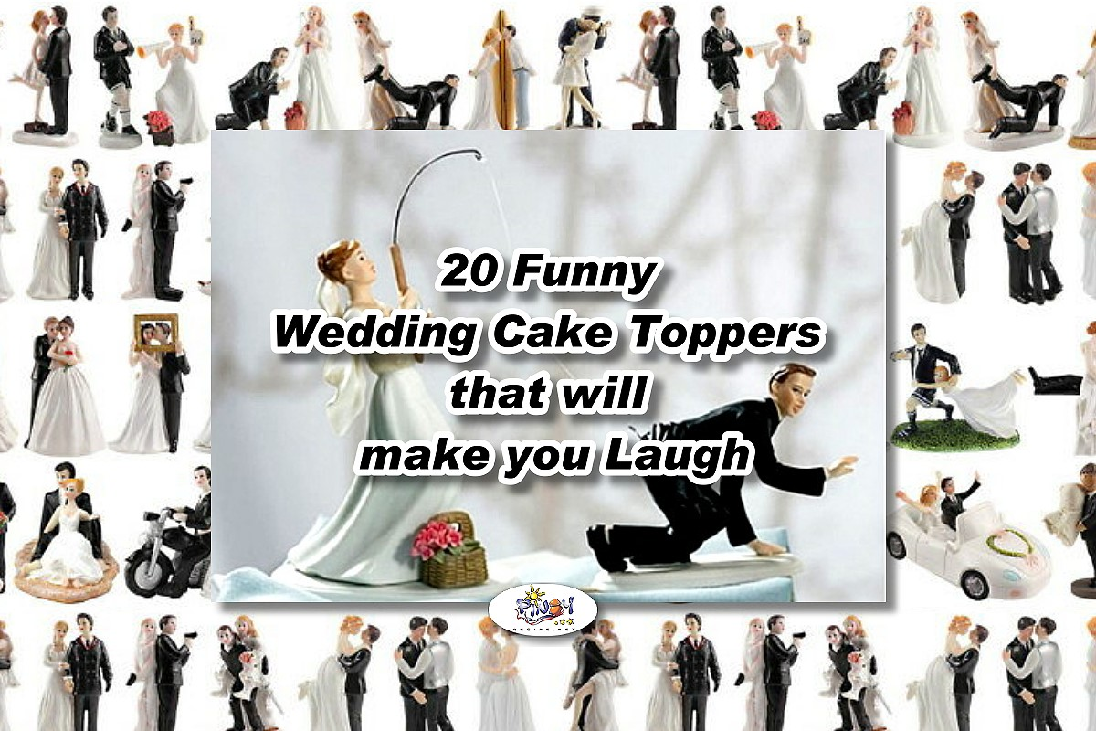 20 Funny Wedding Cake Toppers that will make you Laugh