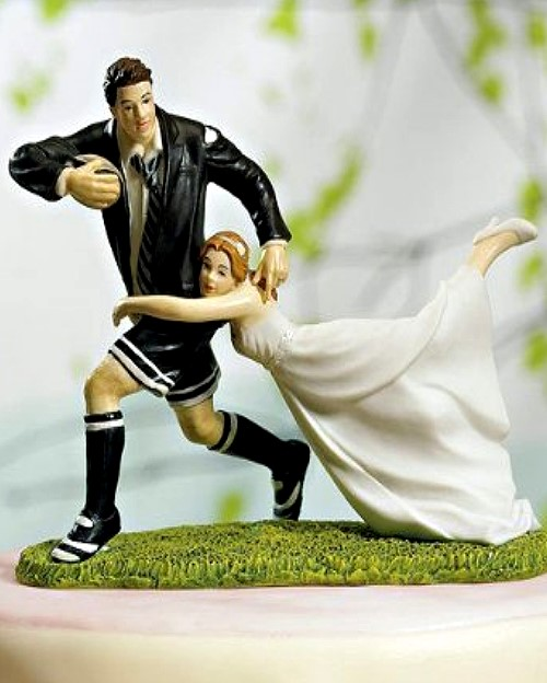 Funny Wedding Toppers - I Got You