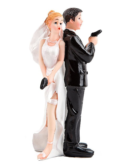 Funny Wedding Toppers - Sexy Spy
