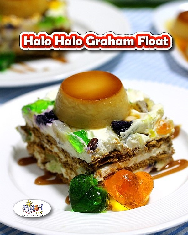 Halo Halo Graham Float Recipe