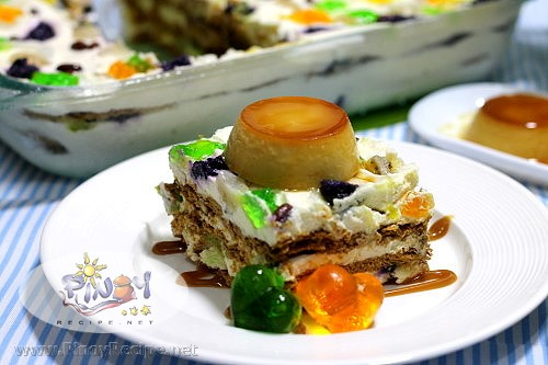 Halo Halo Icebox Cake Recipe
