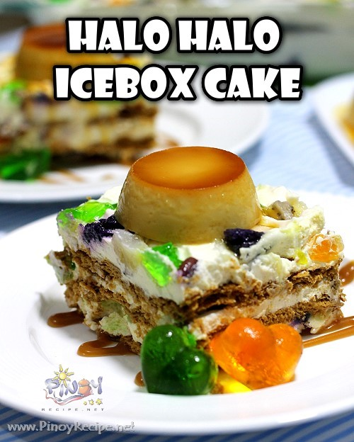 Halo Halo Icebox Cake Recipe