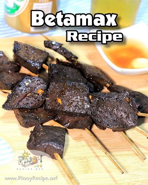 Betamax Recipe or Grilled Chicken Blood