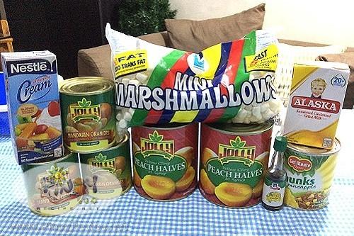 Fruit Medley Salad Ingredients