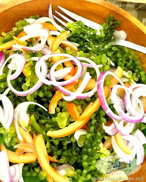 Ensaladang Lato Recipe - Seaweed Salad