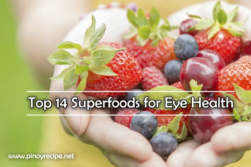 Top 14 Superfoods for Eye Health