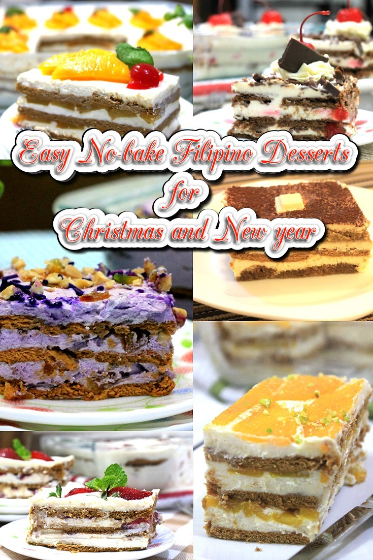 Easy No-bake Filipino Desserts perfect for Christmas