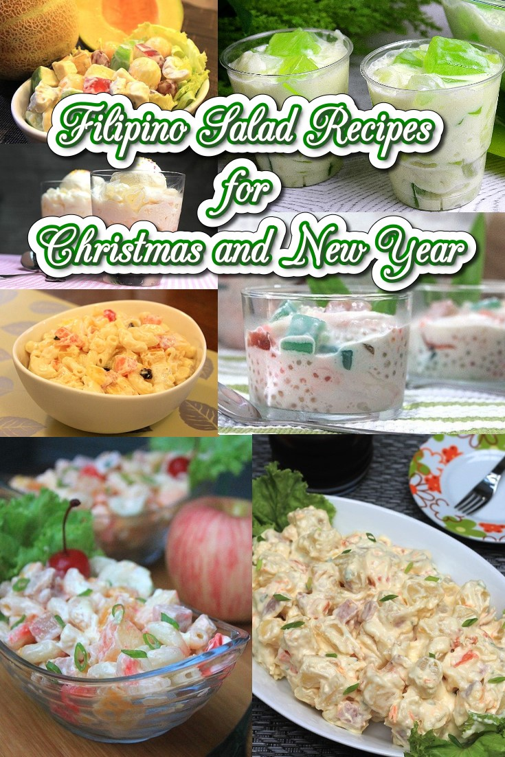 Filipino Salad Recipes for Christmas and New Year