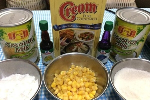 Ube Maja Blanca Ingredients