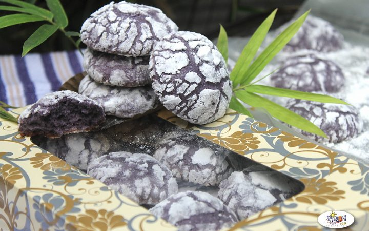 Ube Crinkles Recipe