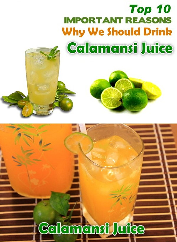 Top 10 Health Benefits of Calamansi Juice - Citrofortunella microcarpa, or Calamondin or most commonly known as Calamansi, is the more sour version of a lime in Southeast Asia.