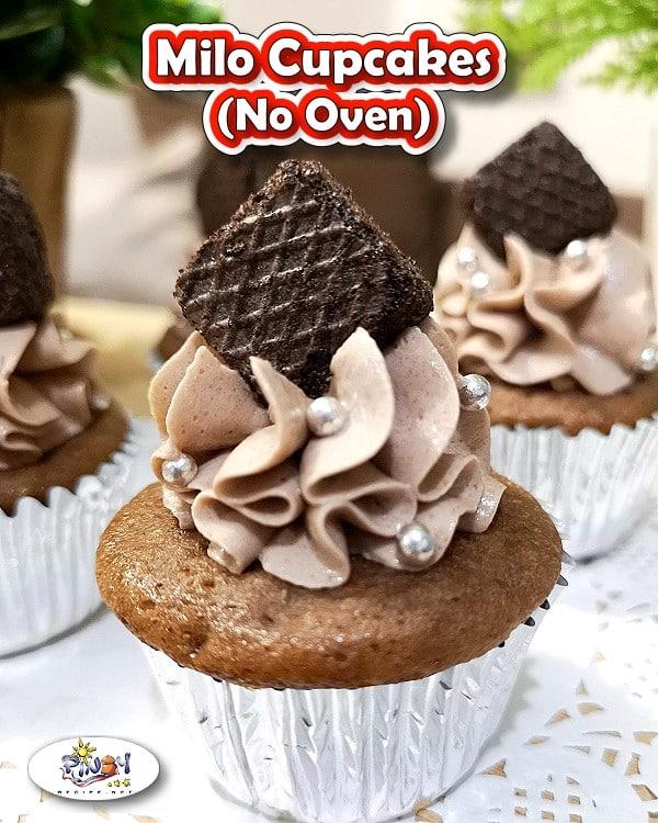 Milo Cupcakes (No Oven)