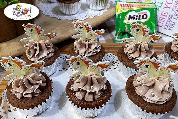Milo Cupcakes Recipe (No Oven)