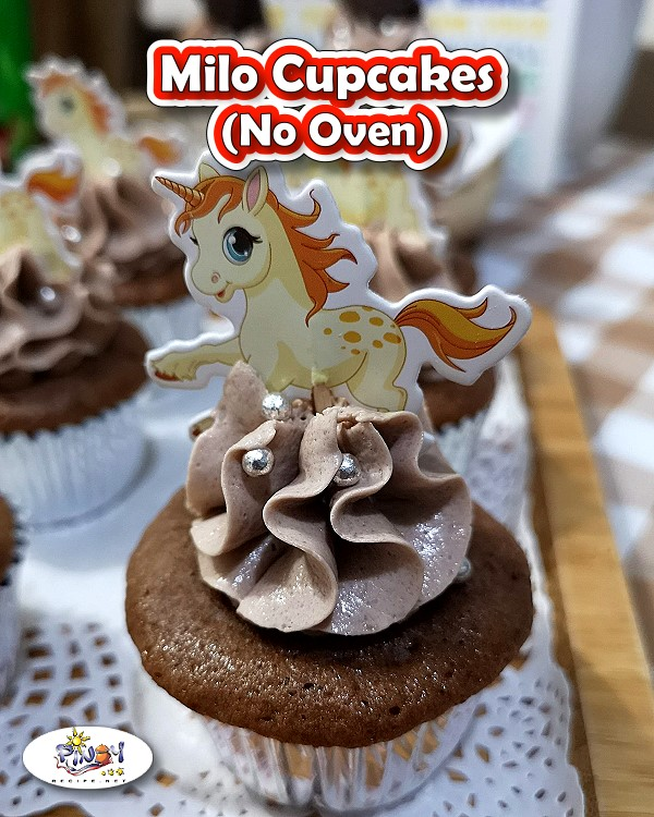 No Oven MILO Cupcakes Recipe | Negosyo Recipe