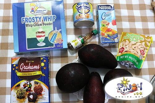 Avocado Graham Float Ingredients