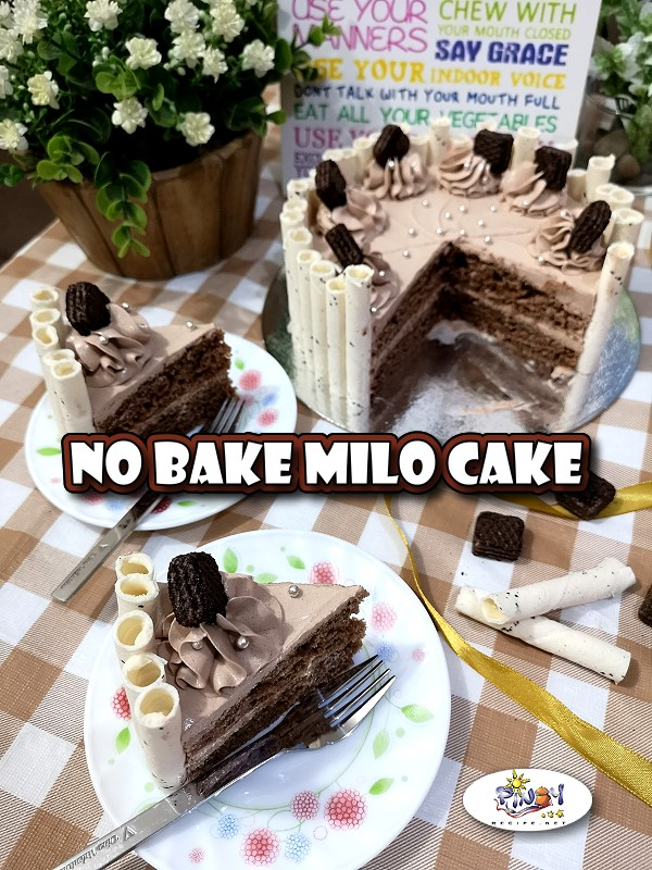 This No Bake Milo Cake Recipe is easy to make and the ingredients are very cheap, you would really love this dessert because it is very moist and awesomely delicious.