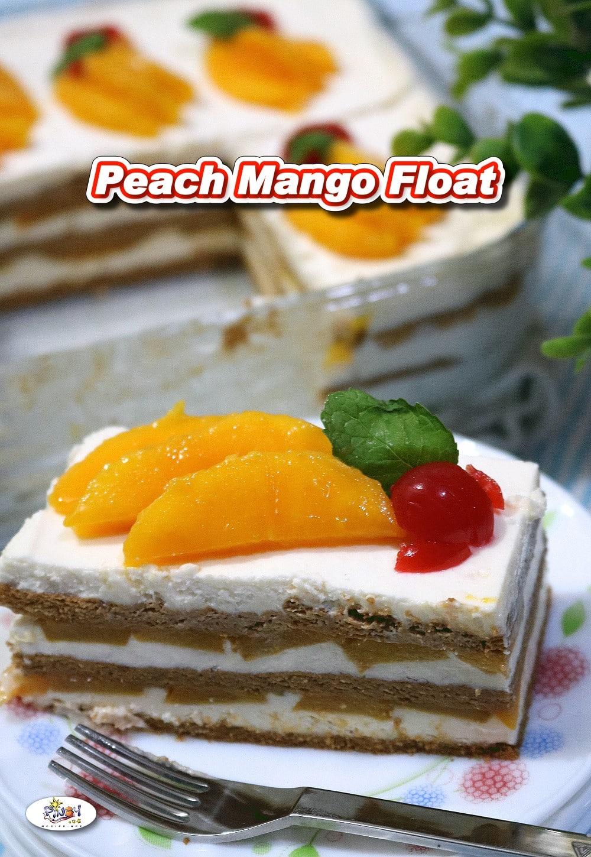 Peach Mango Float