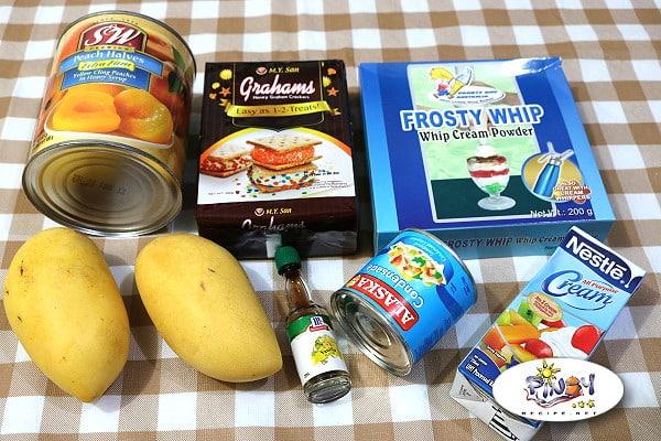 Peach Mango Float Ingredients