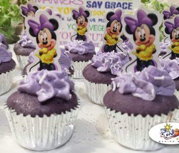 No Bake Ube Cupcakes
