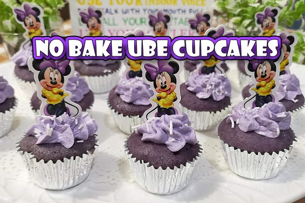 No Bake Ube Cupcakes Recipe