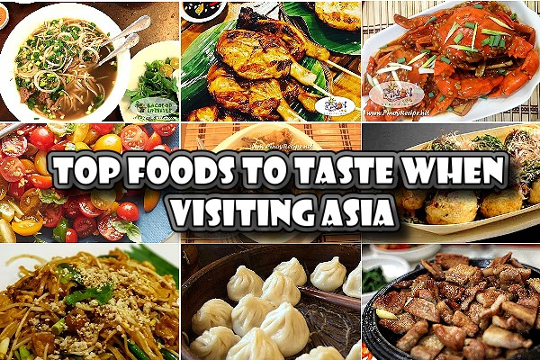 Top Foods To Taste When Visiting Asia - Traveling to Asia is an amazing decision. You might've already tried adapted versions of Asian food, but nothing compares to the original.