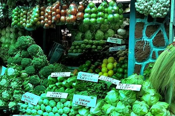 baguio fresh veggies