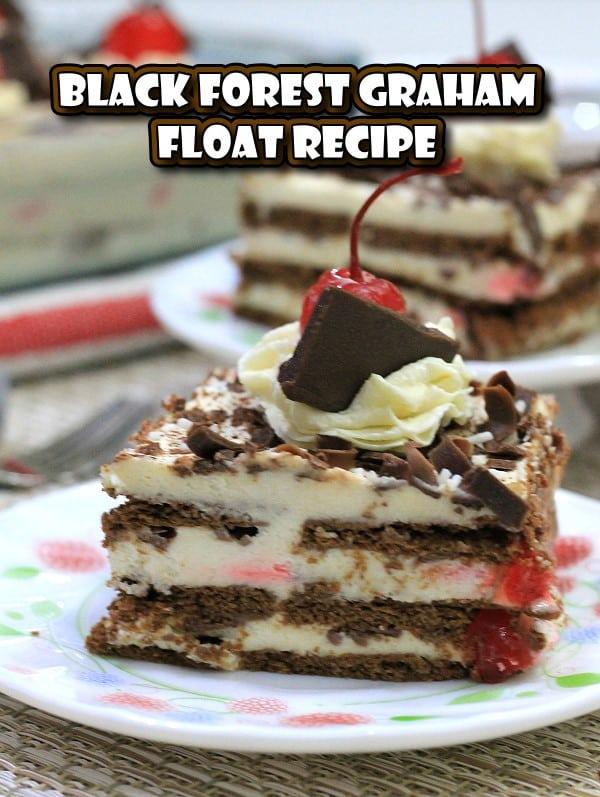 Black Forest Graham Float Recipe