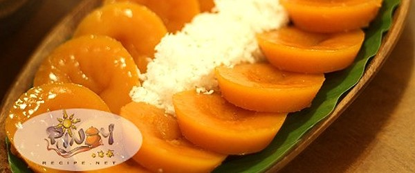Kutsinta Recipe is an orange or brown rice cake, good with freshly grated coconut on top. This Kakanin recipe is a perfect afternoon merienda for your family and friends.