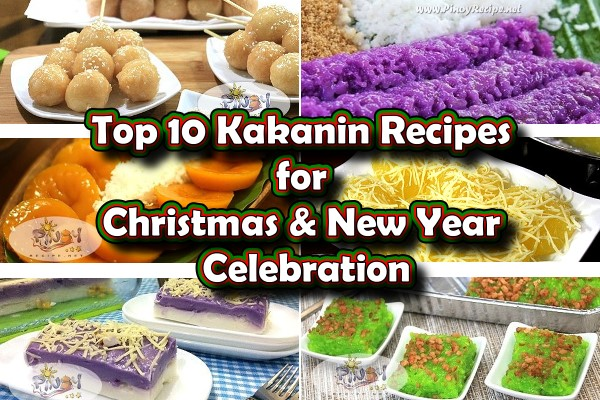 Kakanin Recipes for Christmas and New Year Celebration - Kakanin will always be found at the dining table in all the different Filipino family celebration and in all kinds of events. It has been a part of the Filipino culture to include these delicious rice dessert/snacks in all occasions, specifically Christmas and New Year because of the significance we have put in them.