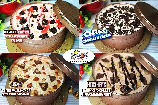 Hersheys Icebox Cake Recipe 4-Ways