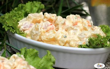 Recipe of Potato Salad with Ham