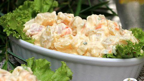 Recipe of Potato Salad with Ham