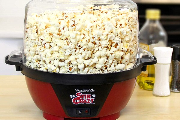 Stir Crazy Popcorn Popper