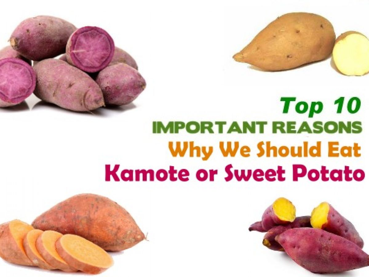 top 10 health benefits of sweet potato or camote | pinoy