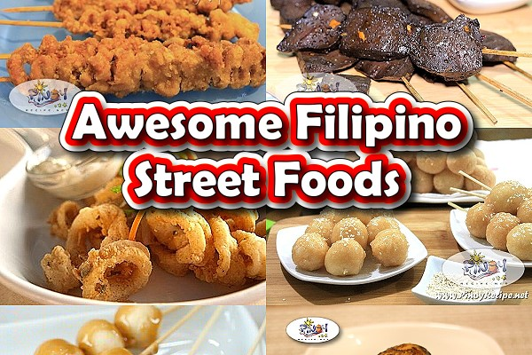 Awesome Filipino Street Foods