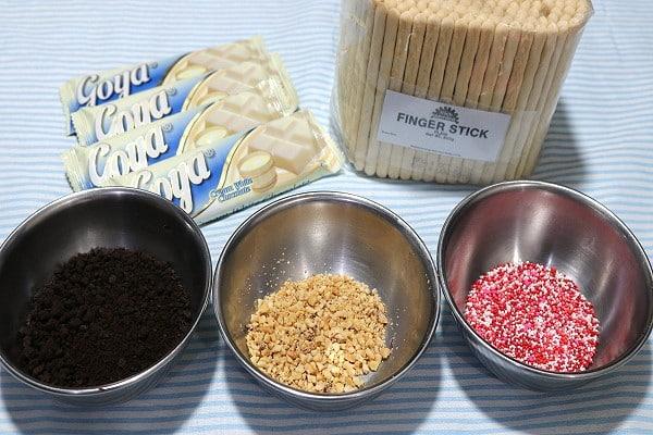 Homemade Pepero Ingredients