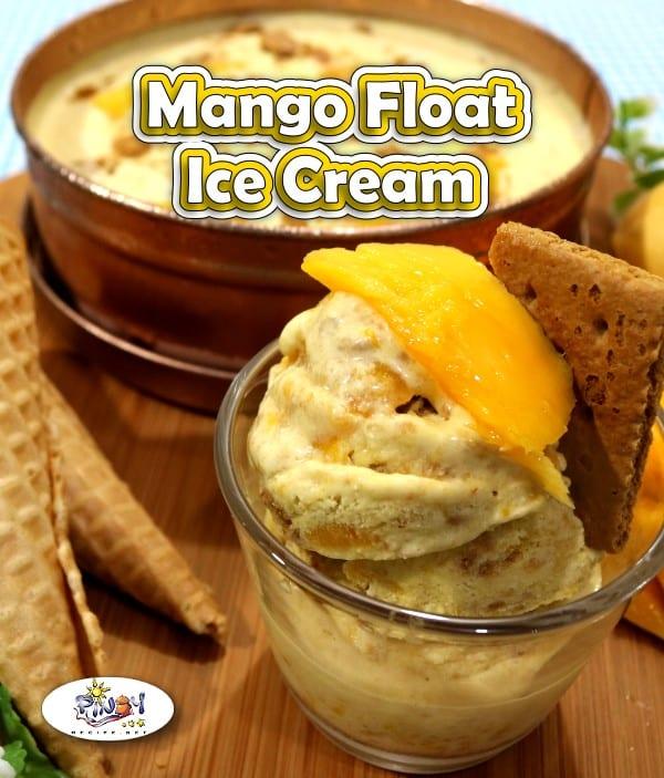 Mango Float Ice Cream Recipe