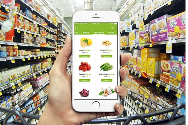 Grocery Delivery Service Online App