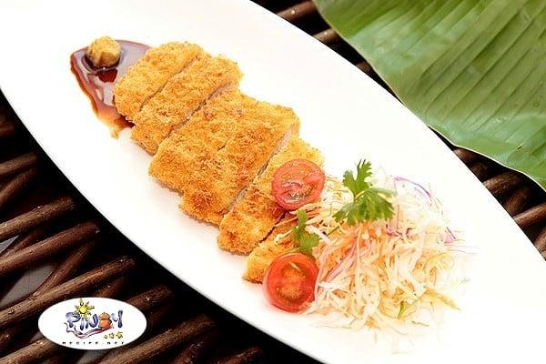 Tonkatsu - breaded pork