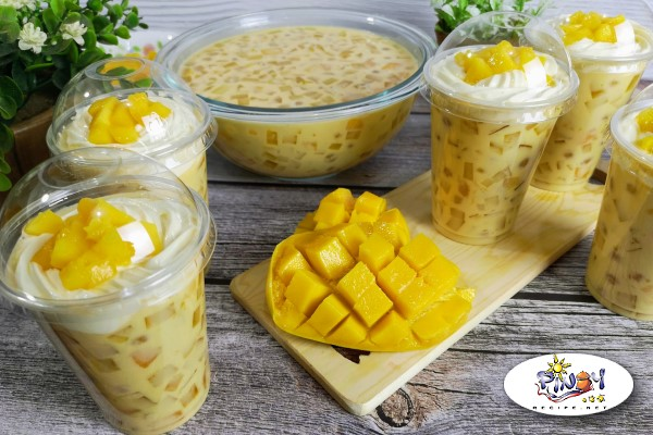 Mango Sago at Gulaman Recipe