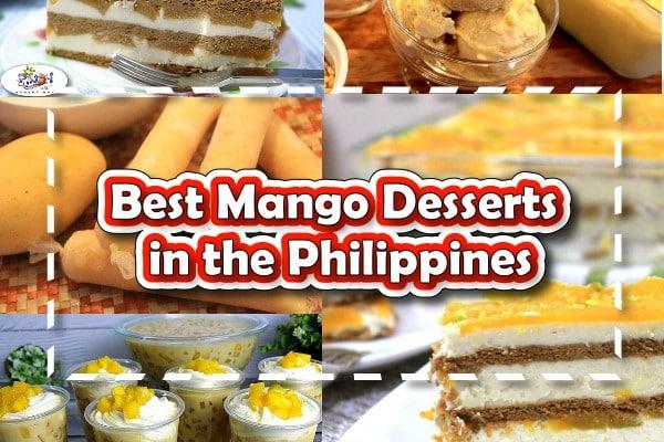 Best Mango Desserts in the Phillipines